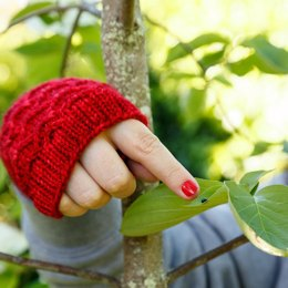 Rose Jam Mitts
