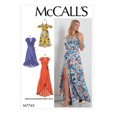 McCall's Misses' Dresses M7745 - Sewing Pattern