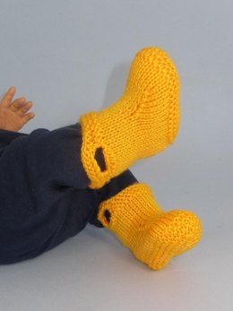 Baby Pull On Boots (Booties)