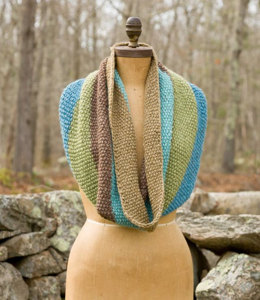 Coors Cowl in Classic Elite Yarns Chalet and Palace - Downloadable PDF