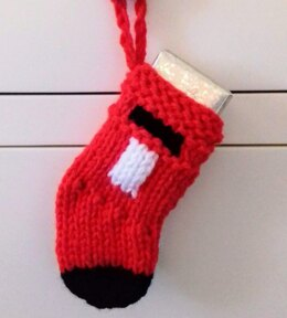 Post Box Christmas Stocking / Money Gift Wallet