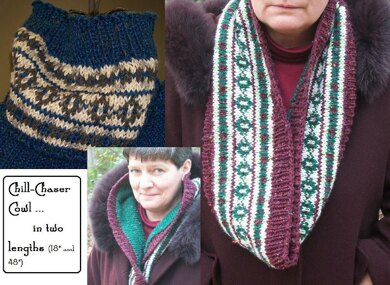 Chill Cheater cowl (in two lengths)