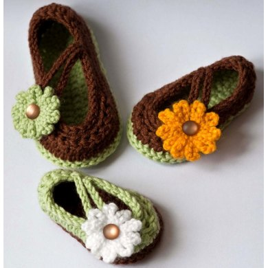 Daisy Baby Mary Jane Shoes