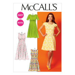 McCall's Misses'/Miss Petite/Women's/Women's Petite Dresses M6958 - Sewing Pattern