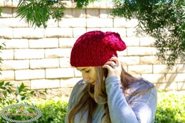 Easy Slouchy Loop Hat