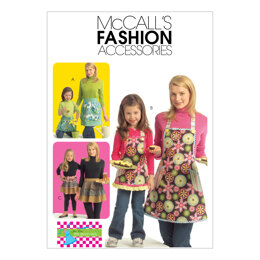 McCall's Misses'/Chldren's/Girls' Aprons M5720 - Paper Pattern Size All Sizes In One Envelope
