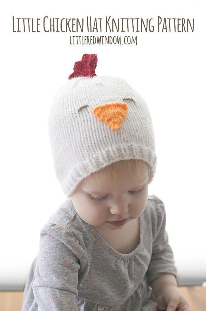 Little Chicken Hat Knitting Pattern By Cassandra May