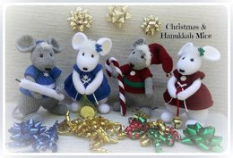 Christmas & Hanukkah Mice