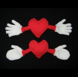 I Love You THIS Much - Valentine Heart