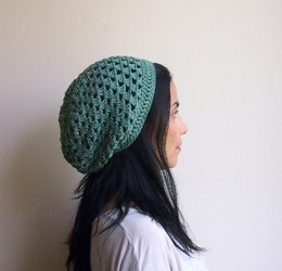 Granny slouchy beret hat