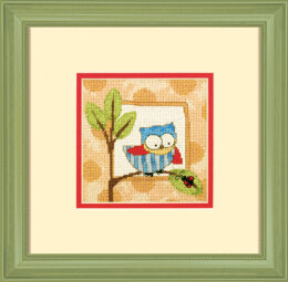 Dimensions Curious Owl Needlepoint Kit