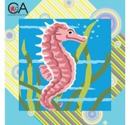 Collection D'Art Seahorse Tapestry Kit