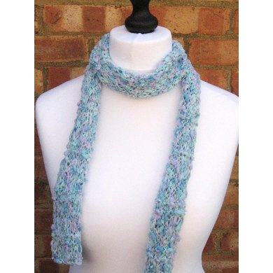 Simple Summer Scarf Knitting Pattern By Looking Glass Designs