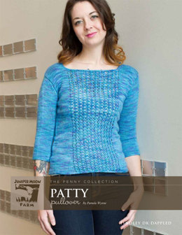 Patty Pullover in Juniper Moon Findley DK Dappled - Downloadable PDF