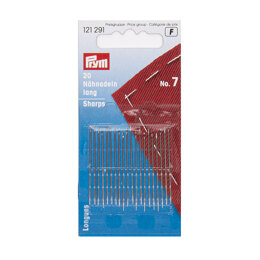 Prym Sewing Needles Sharps No. 7 0.70 x 38mm