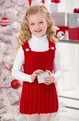My Red Jumper in Red Heart Soft Solids - LW4407