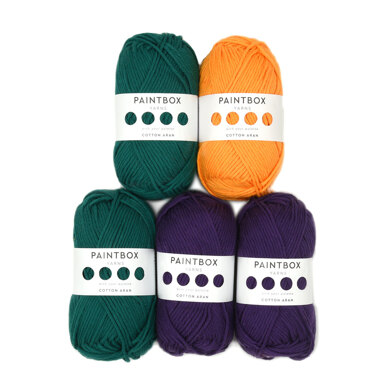Paintbox Yarns Cotton Aran 5 Ball Color Pack Trends