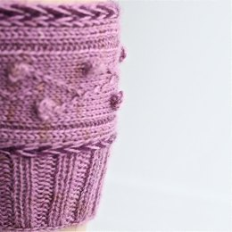 Orchard House boot cuffs