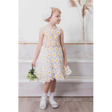 Chamomile dress for girls