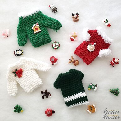 Christmas Gift Card Holder Sweater Ornament