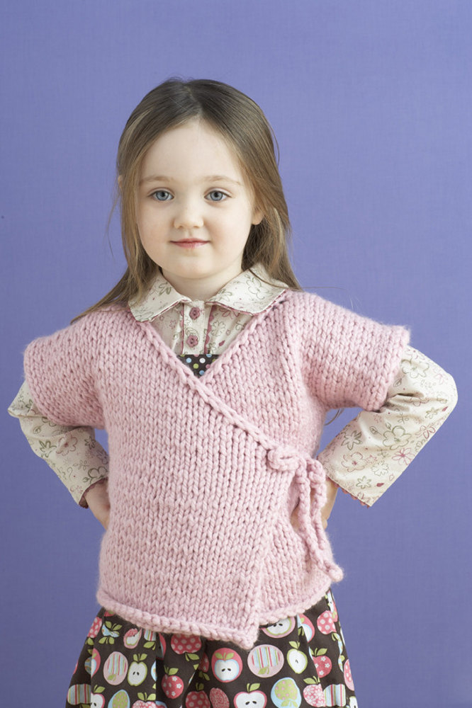 Sirdar Knitting Pattern Errata : Tracie Baby Kimono in Lion Brand Wool-Ease Thick & Quick ...