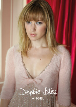 Rosalie Bolero in Debbie Bliss Angel - DBS006 - Downloadable PDF