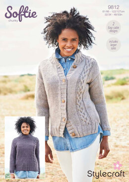 Women Jumpers in Stylecraft Softie - 9812 - Downloadable PDF
