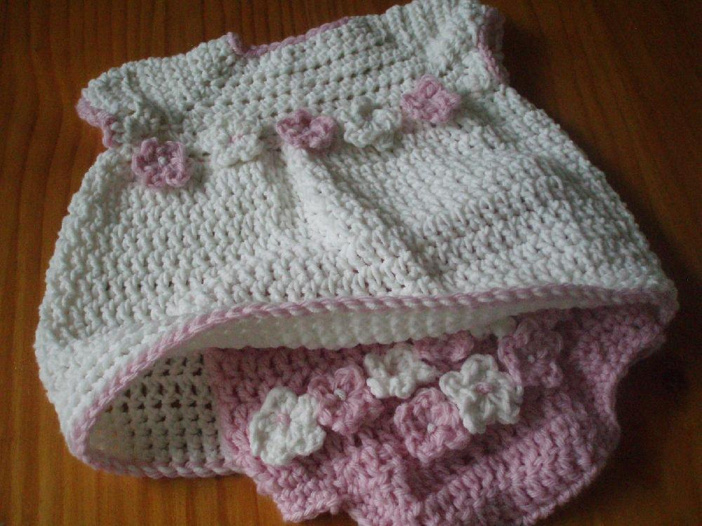 Sunday Best Diaper Cover And Top Or Dress Crochet Pattern By Jenny