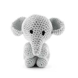 Elephant Mo Toy in Hoooked RibbonXL