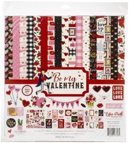 "Echo Park Paper Echo Park Collection Kit 12""X12"" - Be My Valentine"