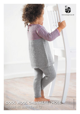 Hose in Lana Grossa Cool Wool Cashmere - Infanti12M46
