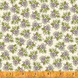 Windham Fabrics Bubbies Buttons & Blooms - Pitite B Oyster
