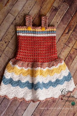 Stars & Stripes Child Sundress