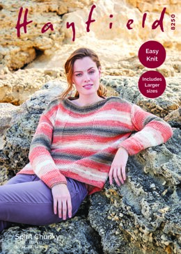 Sweater in Hayfield Spirit Chunky - 8250 - Downloadable PDF
