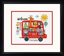 Dimensions Baby on Board Birth Record Cross Stitch Kit