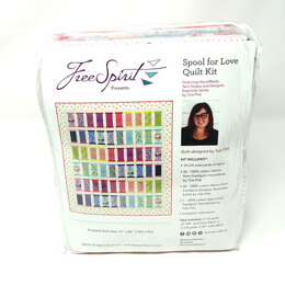 Tula Pink Spool for Love Quilt Kit