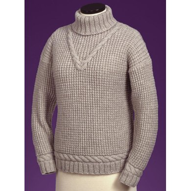 V-Cable Turtleneck #115