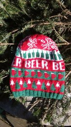 Ugly Christmas Beer Hat