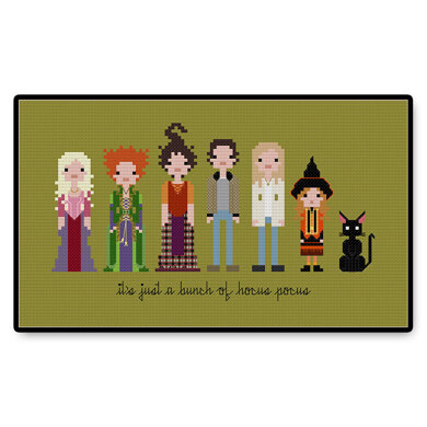 Hocus Pocus - PDF Cross Stitch Pattern
