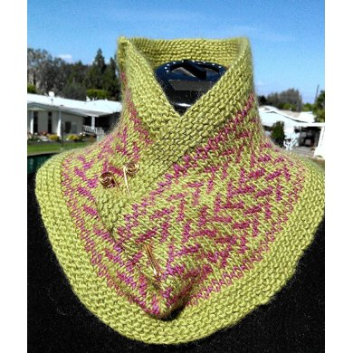 Two Color Portugese Cowl