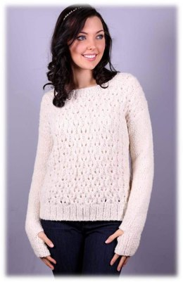 Women's Pullover in Plymouth Yarn Arequipa Boucle - 2994 - Downloadable PDF