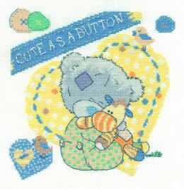 DMC Cute as a Button Cross Stitch Kit