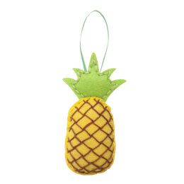 Trimits Felt Decoration Kit: Pineapple - 25 x 50 x 120mm