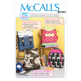 McCall's Backpacks M7207 - Sewing Pattern