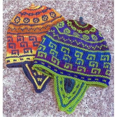 Keys & Coins Andean-Style Hat