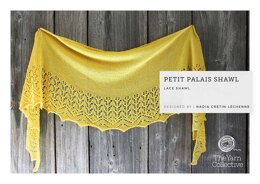 Petit Palais Shawl by Nadia Crétin-Léchenne in The Yarn Collective - Downloadable PDF