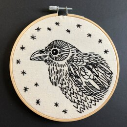 Hook Line & Tinker Nevermore Embroidery Kit