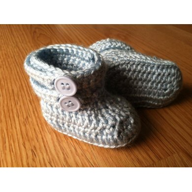 Two Strap Baby Booties