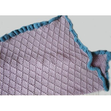 Diamond Baby Blanket