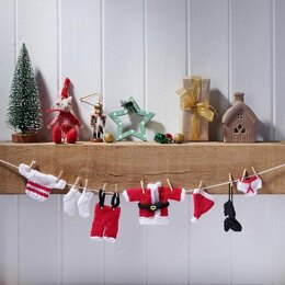 Little Laundry Christmas Bunting